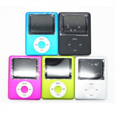 Ultra Slim MP3 MP4 Player Radio FM Lettore Video Giochi Cuffia USB Cavo