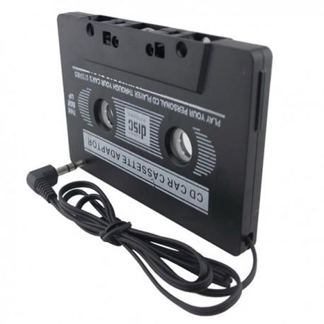 CASSETTA LETTORE CONVERTITORE AUTORADIO JACK AUTO STEREO MP3 MP4 MP5 IPOD
