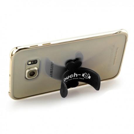 SUPPORTO STAND CELLULARE SMARTPHONE SOSTEGNO ONE TOUCH U SILICONE