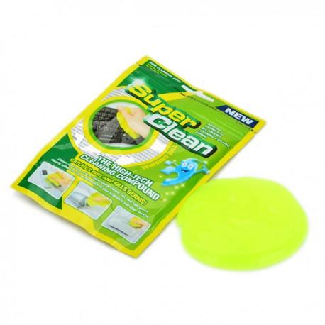 SUPER CLEAN SPUGNA GEL PULISCI TASTIERA PC CELLULARE TV ASSORBE SPORCO CYBER N