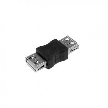CONNETTORE ADATTATORE USB FEMMINA FEMMINA FF 480Mbps CAVO PC
