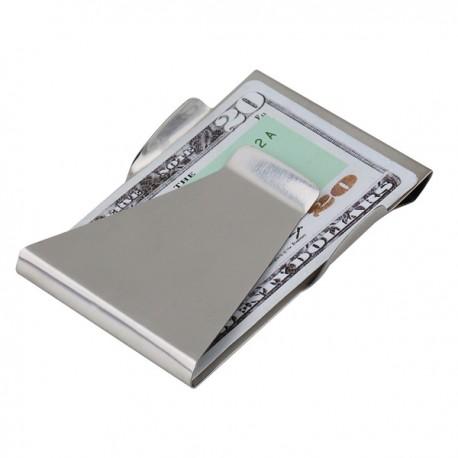 Porta carte di credito e banconote universale Money clip in acciaio