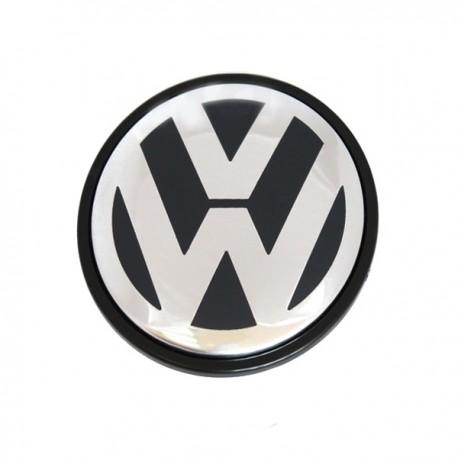 1 PEZZO COPRIMOZZO 65 MM LOGO GOLF VW PASSAT