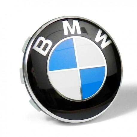 Tappi Coprimozzo Logo BMW 68mm Serie 1 2 3 4 5 6 7 M Z X Borchie cerchi Lega