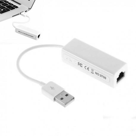 ADATTATORE RETE USB CONVERTITORE CAVO ETHERNET SCHEDA ADAPTER LAN SISTEMA LINUX
